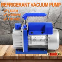 Wholesale Air Condition Vacuum Pump - 1.8CFM 1 Stage Refrigerant Vacuum Pump Refrigeration Gauges Tools Air Condition