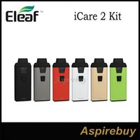 Wholesale Green Products Wholesale - Eleaf iCare 2 Kit New Product from Eleaf iCare Series All in One Kit 2ml Capacity with Top Filling and Built-in 650mAh Battery 100% Original