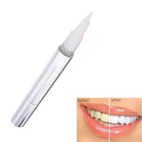 Wholesale Dental White Gel - Wholesale- 1 pc Tooth Gel Whitener Teeth Whitening Pen Bleach Remove Stains Instant Popular White Teeth Dental Cleaning oral hygiene tools