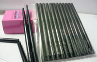 Wholesale Eyeliner Gel Pro - 12PCS Lot Pro Brand Makeup Rotary Retractable Black Gel Eyeliner Beauty Pen Pencil EyeLiner