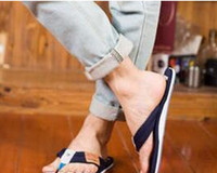 Wholesale White Flip Flops Men - 2017 summer new styles Men casual slippers flip-flops size 39-45