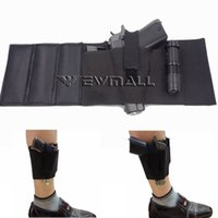 Wholesale Framing Media - Tactical Ankle Holster with padding for Concealed Carry with Elastic Secure Strap Pistol Fits for Small to Medium Frame Pistols