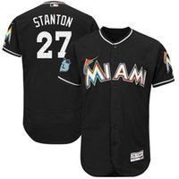 Men black fields - Men s Jersey Spring Training Jose AltuveFlex Giancarlo Stanton Base On field and Cool Base Custom Purple Baseball Team Jerseys