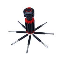 notfall-werkzeug-kit groihandel-8 in 1 multifunktions led taschenlampe schraubendreher auto auto notfall sicherheit wartung werkzeug reparatur kit box