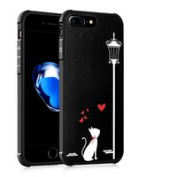 Wholesale oppo luxury phone for sale - Case For Apple iPhone S Plus Luxury Style Rubber TPU Silicone Hybrid Shockproof Back Cover For oppo R9 R9s Huawei Mate Phone Shell
