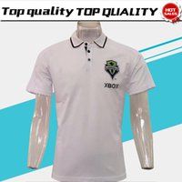 Nuovo Seattle Sounders Polo bianco Soccer Jersey 17/18 Seattle Sounders Polo bianco 2018 Sport uniformi polo sportivo