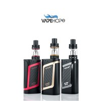 Wholesale Mod Electronic Cigarettes - Wholesale- 100% Original Smok Alien Kit New In Stock with 3ml TFV8 Baby Tank Atomizer Aline 220W Box Mod For Vape Electronic Cigarette
