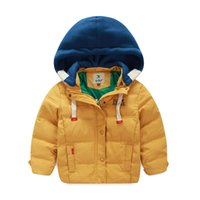 Wholesale Kids Leisure Shorts - 2016 Direct Selling Top Regular Winter Coat Children Boys Down Jacket for Winter Clothes Leisure Hooded Kids Warm Coats