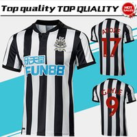 Wholesale United Soccer - New Newcastle United home Soccer Jersey 17 18 Newcastle United Soccer Shirt 2018 Customized football uniform 2017Sales