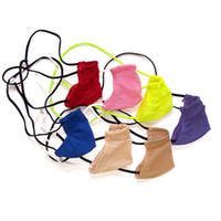 Wholesale Tiny Underwear - Mens Micro G-String Thong Tiny Contoured Pouch G3452 small pouch limit coverage Silky Soft Underwear nylon spandex