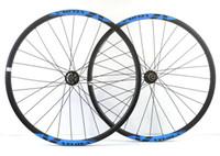 paire de roues vtt carbone achat en gros de-Livraison gratuite VELOSA! Roues carbone sans crochet 29er roues de vélo de montagne 29 pouces VTT AM vélo super léger VTT XC roues de carbone