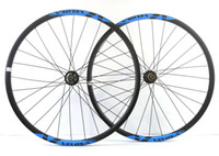 Wholesale Mountain Bike Tubeless - Free shipping VELOSA! carbon wheels hookless 29er mountain bike wheels 29inch MTB AM bicycle super light MTB XC carbon wheelset