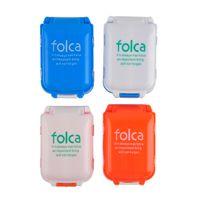 Wholesale Medicine Boxes Plastics - Portable Pill Case Medicine Storage Box 8 Compartments Makeup Storage Case Container Case Easy And Safe Plastic Case 0615006