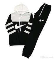 Wholesale hit clothing for sale - women casual sports hooded Sweatshirts pants PC and retail clothing female runners hit color suit woman Sweatshirts Tracksuit
