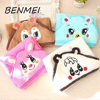 Wholesale BENMEI Cartoon Pet Bath Towel Funny Dogs Cats Super Absorbent Puppy Bathrobe Suit Kawaii Animal Pattern Towel