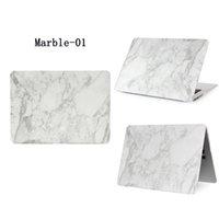 ingrosso mela 15-Custodia rigida in plastica Custodia in marmo per Apple Macbook Air Pro Retina 11.6