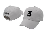 chapeaux de logo sportif achat en gros de-2018 style Chance 3 casquette broderie logo Snapback Chapeaux Pour Hommes Femmes Hip Hop Baseball Cap Soleil Chapeau Golf Sport Casquette Casquette Gorras