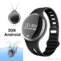 Wholesale Android Waterproof Watch Phone - E07 Waterproof IP65 Bluetooth Smart Watch Bracelet Sport Healthy Pedometer Sleep Monitor smart watches for android phones Free Shipping