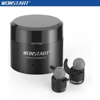 Wholesale Amazon Products - Amazon Hotting Product Wonstart W302RD True Wireless Earbuds Bluetooth Earphones HD Mic With Charging Power Bank Earbuds