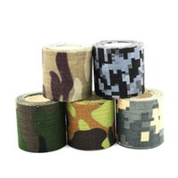 Wholesale Hot CMx5M Camouflage Tape Multiuse Waterproof Hunting Camping Rifle Gun Wrap for Hunting Accessories MA0269