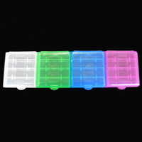 Wholesale Pilas Aa - Plastic AA   AAA Battery Storage Box Hard Case Boxes Battery Holder battery protective box accumulator aa caja pilas