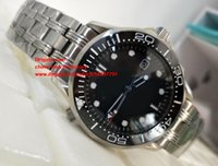 Wholesale Professional Divers - 2 Colors Luxury High Quality Watch 41mm Professional DIVER 300M Co-Axial 212.30.41.20.03.001 Ceramic Mechanical Automatic Mens Watches
