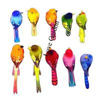 Wholesale Wholesale Decorative Magnets - Wholesale-Length 6-10CM,10PCS Decorative Artificial Foam Mini Love Birds With Magnet,Bird Ornaments Home,DIY Craft For Wedding Decoration