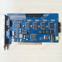 Wholesale Dvr Pcb - Wholesale-16CH Video 4CH Audio GV800 V8.4 V8.5 Digital Video Capture DVR Card PCB 16 Channel | PCI Connector Socket Windows7 Computer PC
