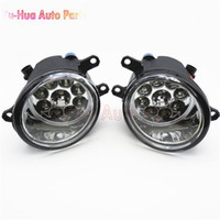 Wholesale Fog Lamp Corolla - Car Styling LED Fog Lamps Refit Right + Left For Toyota AVENSIS YARIS RAV4 CAMRY COROLLA MATRIX VENZA PRIUS 81210-06052 2pcs