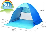 Wholesale 2017 new design beach tent pop up open person quick automatic opening UV protective waterproof for camping garden fishing
