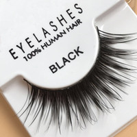 Wholesale wing lashes - 1 Pairs False Eyelashes Natural Long Eye Lashes Extension Makeup Professional Faux Eyelash Winged Fake Lashes Wispies 605