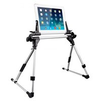 Wholesale Ipad Stand Free Shipping - New Universal Tablet Bed Frame Holder Stand for iPad 1 2 3 4 5 air iPhone Samsung Galaxy Tablet PC Stands free shipping