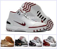 Wholesale Eva Balls - 2017 New Limited Retro LBJ1 Generation Classic Basketball Shoes High Quality Youth James 1 Fashion Sports Basket Ball Sneakers Size 40-46