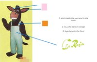 Wholesale Mascot Costumes Donkey - customized Donkey mascot costume free shipping !pink inside the ears and in the noze