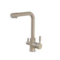 Wholesale Paint Kitchen Faucet - Wholesale- Newly Arrival US Free Shipping Deck Mounted Kitchen Faucet Mixer Painting Faucet Tap