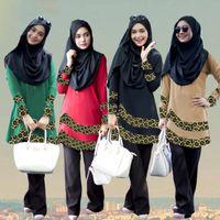 Wholesale Hijab New Design - New design Muslim Women Dress pictures Islamic Abaya Turkish hijab Clothing jilbab and abayas Turkey Robe Musulmane Dresses Burqa Vestido