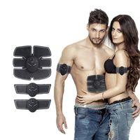 Wholesale Stimulation Machines - Wireless Muscle Stimulator EMS Stimulation Body Slimming Beauty Machine Abdominal Muscle Exerciser Training Device Body Massager