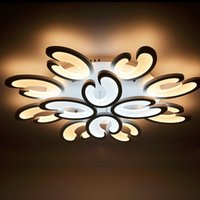 Wholesale Lamparas Diy - Modern Super-thin Living room LED Ceiling Light Acrylic Ceiling Lamps DIY LED Ceiling Lighting Lamparas de Techo