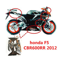 Wholesale Honda Fit Carbon - Motorcycle high quality 3M sticker fit for honda f5 cbr600rr 2012year HONDA F5 CBR600RR 2012YEAR