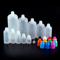 Wholesale plastic bottle for sale - E juice E liquid E cig Empty Oil Bottle Plastic Dropper Bottles ml ml ml ml ml ml ml ml ml Oil Bottle With Childproof Cap