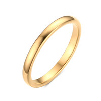 Wholesale Tungsten Wedding Bands Heart - Wedding Finger Ring 2MM Wide Gold Color And Silver Plated Tungsten Carbide Rings for Women And Men Jewelry