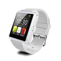 smartwatches iphone оптовых-U8 SmartWatches Bluetooth SmartWatch Анти-потерянные 1,5-дюймовые наручные часы для iPhone Сотовые телефоны Samsung Android и система IOS