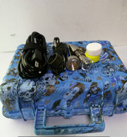 Wholesale Cheap Electric - Cheap E Nail Pelican Electric dab nail ENAIL controller wax PID TC box with Titanium 16 20 mm domeless with titanium nail &carp cap