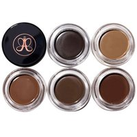 Wholesale eyebrow makeup - 2017 New Eyebrow Pomade Eyebrow Enhancers Makeup Eyebrow Colors With Retail Package Free DHL