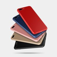 Wholesale Metallic Phone - Metallic Paint fashion phone case cover for iphone 7 7plus Soft Rubber for iPhone 6 6s Ultra Thin cell phone cases