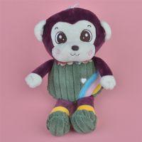 Wholesale Monkeys Toys Brands - 35-45cm Purple Color Rainbow Monkey Brand New Soft Stuffed Aniamls Plush Toy, Baby Kids Brithdat Party Doll Gift Free Shipping