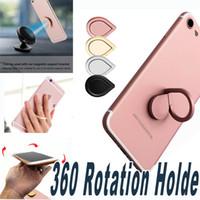 Wholesale Magnetic Finger - Finger Ring Holder 360 Fidget Spinner Holder Universal Mobile Phone Ring Magnetic Stand For iPhone Sumsung All Handset