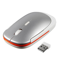 Wholesale Notebook Computer Accessories - 3500 wireless mouse ultra - thin gift multi color mice wholesale custom LOGO game mouse wholesale 2.4G notebook mouse computer accessories
