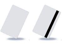 iso karte großhandel-Wholesale-100x freier Raum CR80 Identifikation ISO PVC LoCo 1-3 Magnetstreifen PVC-Karte geben Verschiffen frei