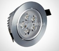 Wholesale Aluminum Led Lamp Heatsink - Wholesale- 2015 Led Lamp Spot Free Shipping:6pcs lot,5w 7w Led Downlights, Energy-saving With Excellent Heatsink High Brightness Epistar